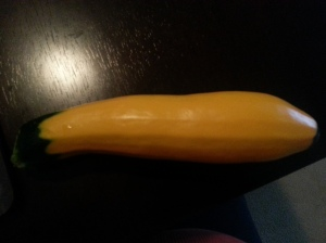 Yellow Zucchini- July 15, 2014